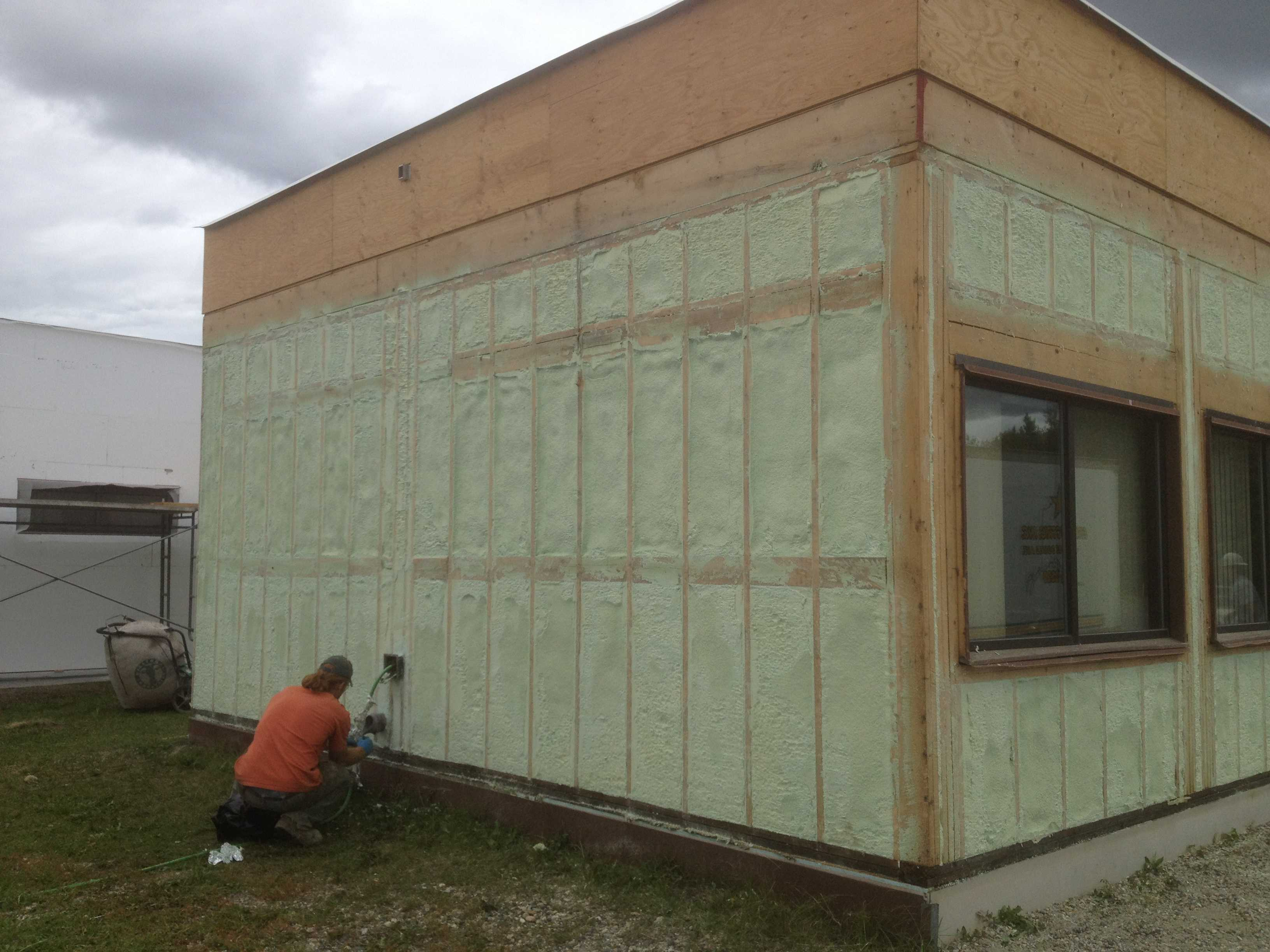 Exterior Insulated Walls
